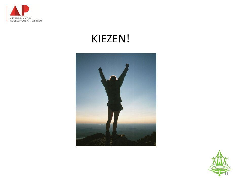 KIEZEN! Studie-informatieavond K. A. Keerbergen – 18 februari 2011 11