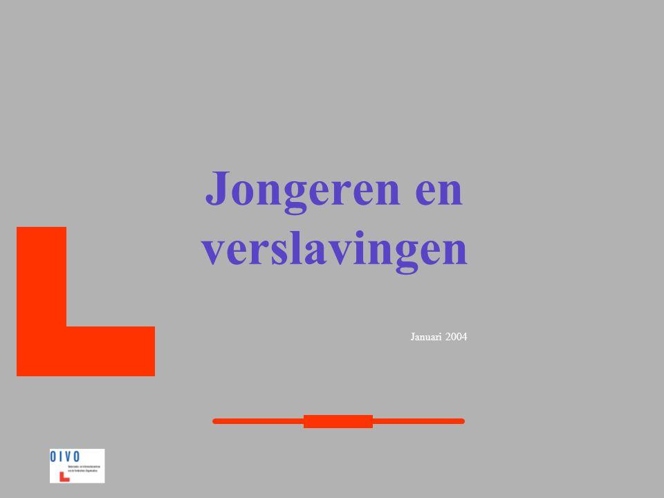 Januari 2004 Jongeren en verslavingen
