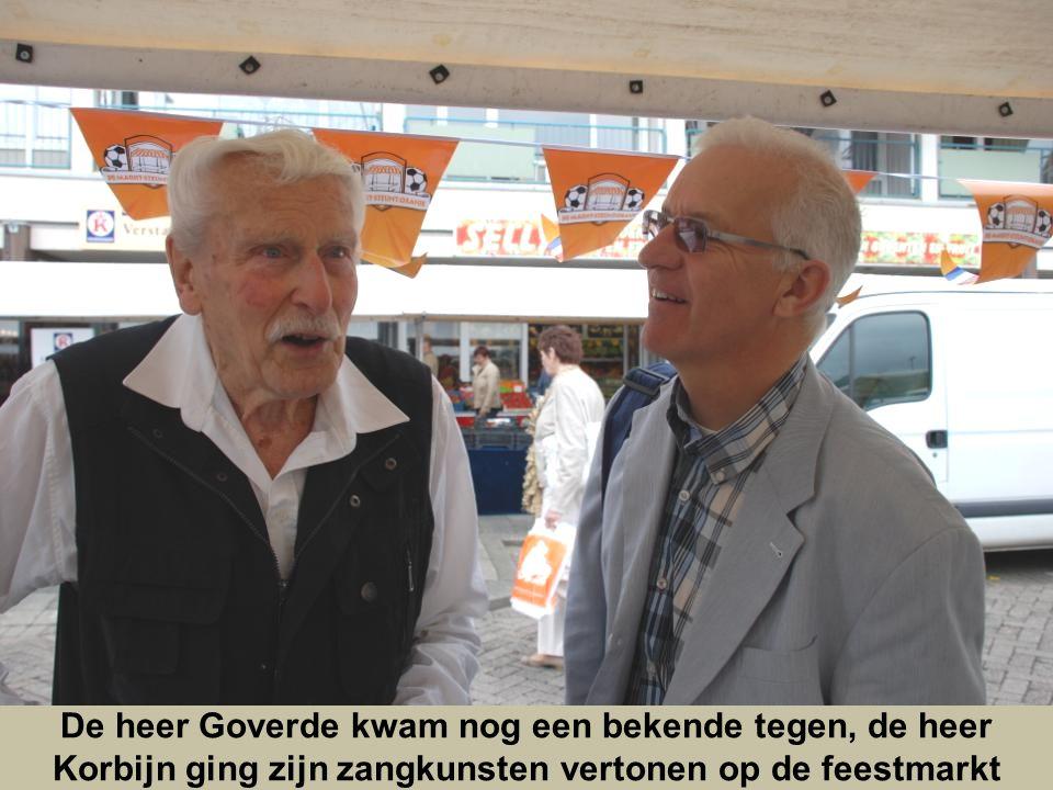 Onze Marktlakei bedankte beide heren voor hun medewerking