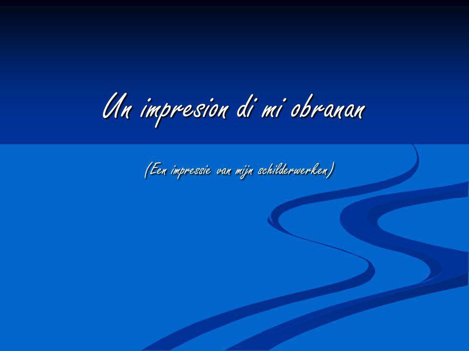 Un impresion di mi obranan (Een impressie van mijn schilderwerken) (Een impressie van mijn schilderwerken)