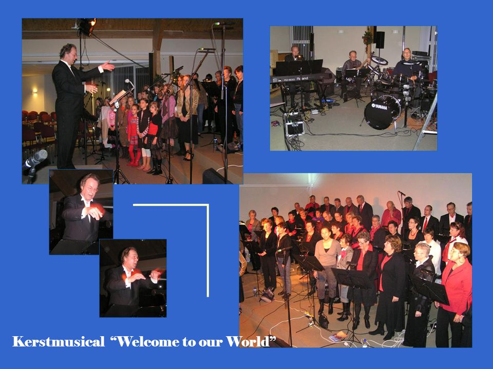 Kerstmusical Welcome to our World