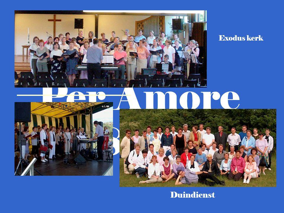Gospelkoor Per Amore m.m.v.: Pianist: Rob van Dijk.