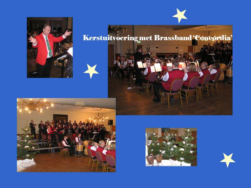 Kerstuitvoering met Brassband 'Concordia'