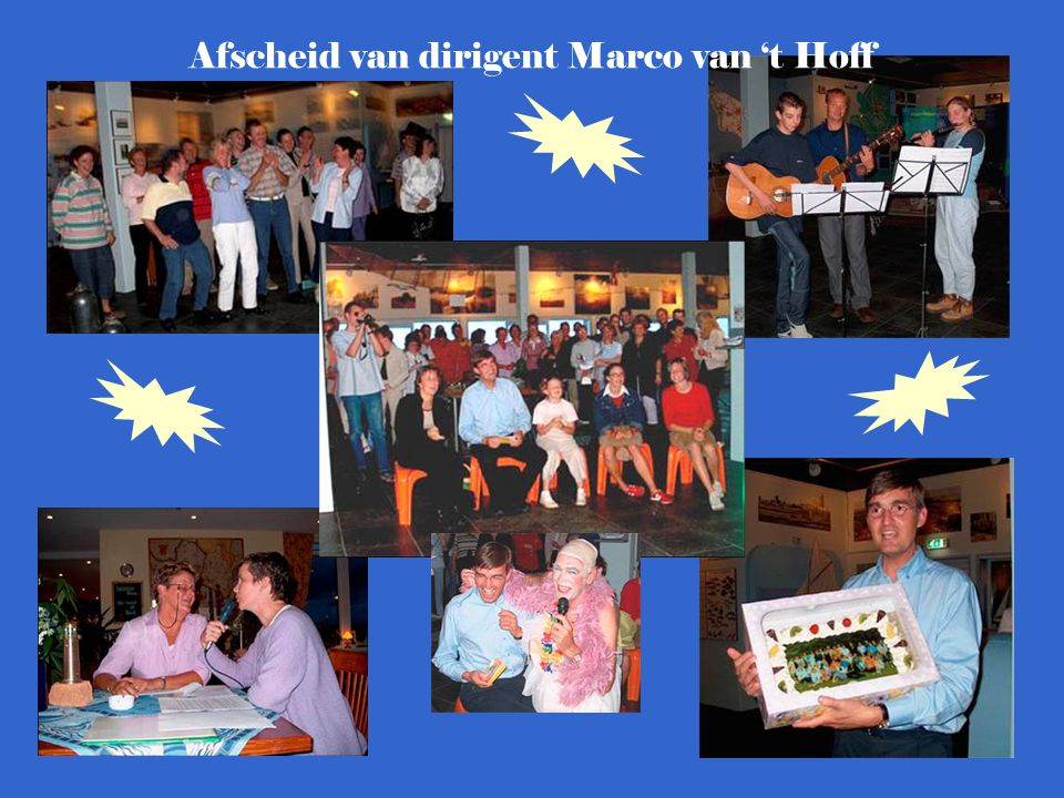 Afscheid van dirigent Marco van 't Hoff
