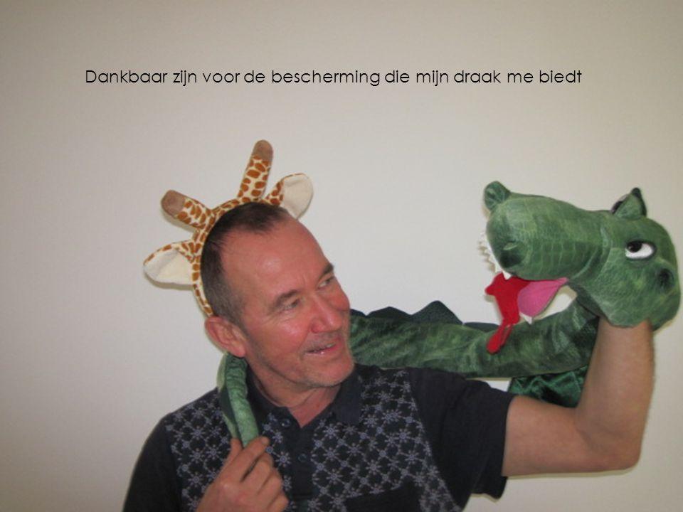 Dankbaar zijn voor de bescherming die mijn draak me biedt