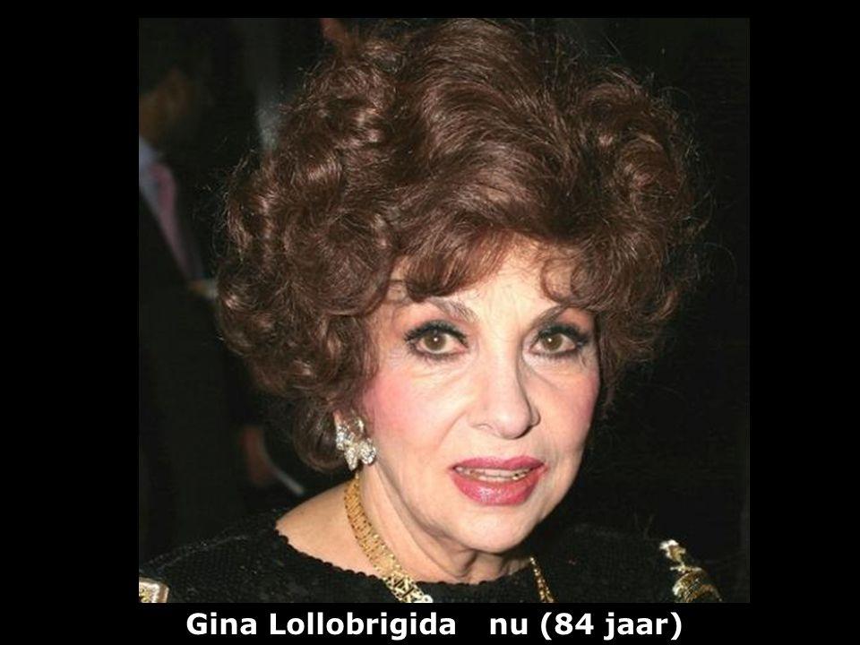 Gina Lollobrigida (1927) actrice vroeger
