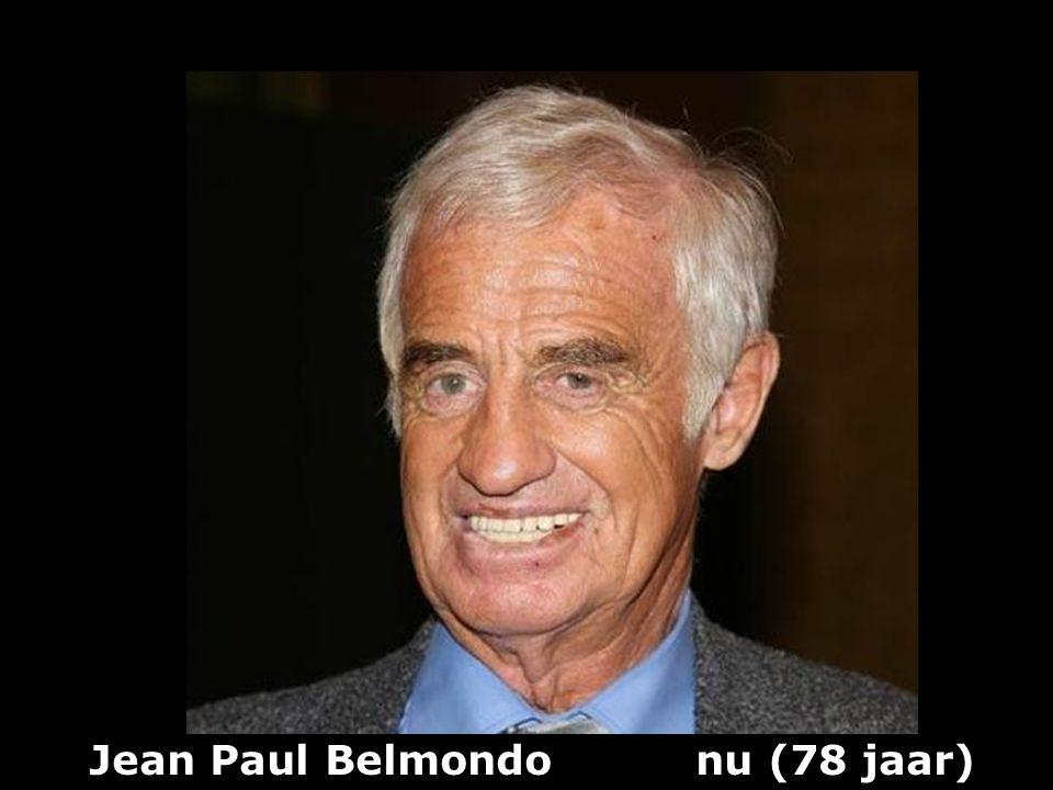 Jean Paul Belmondo (1933) vroeger