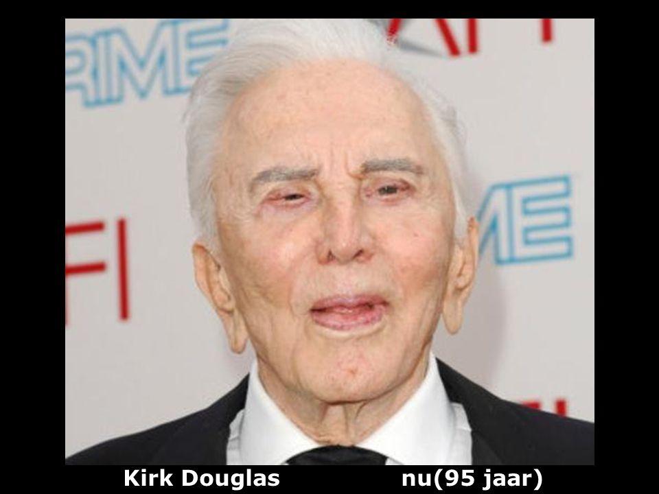 Kirk Douglas (1916) acteur producer en schrijver vroeger