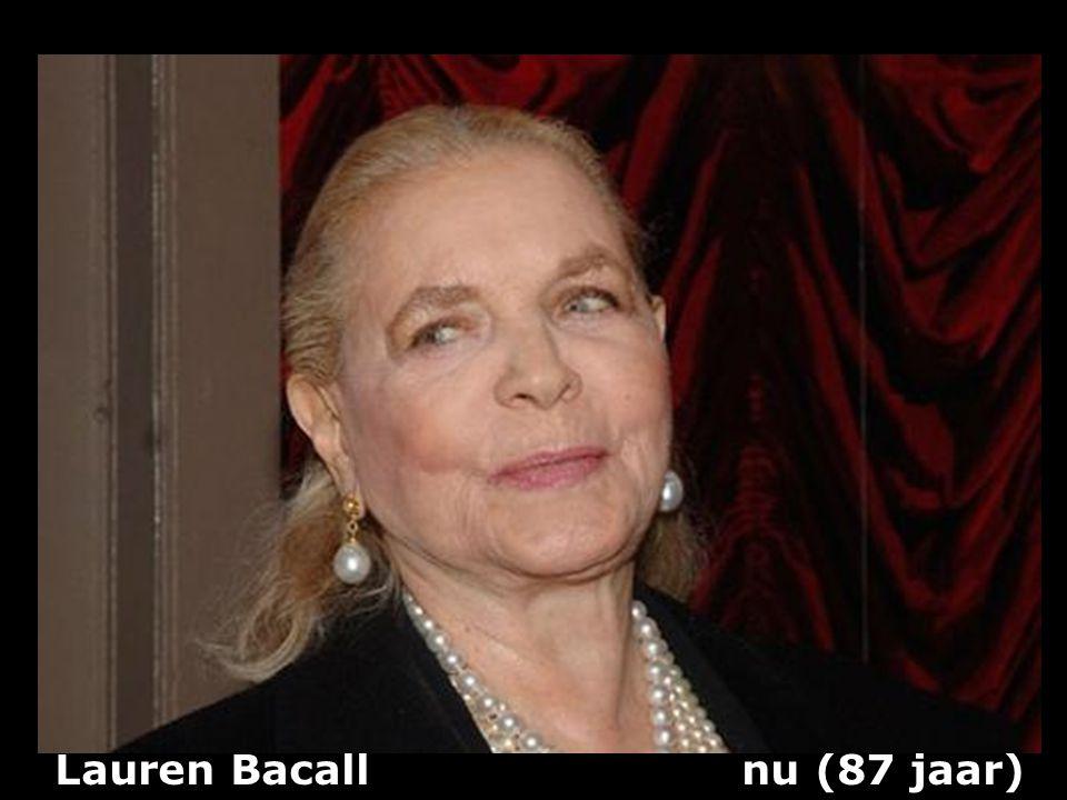 Lauren Bacall (1924) actrice vroeger