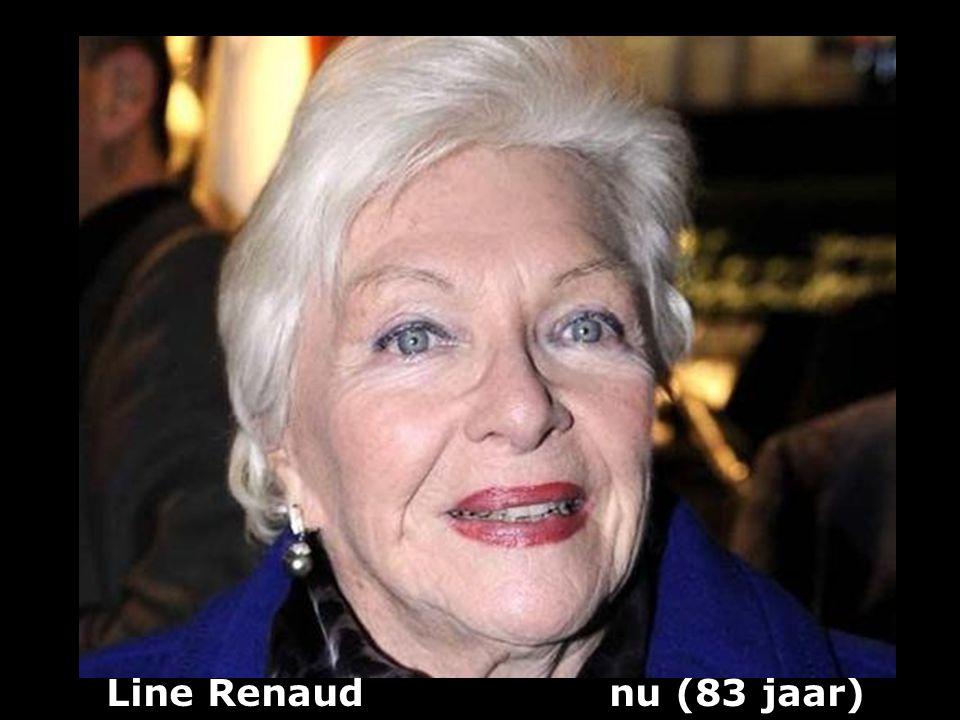 Line Renaud (1928) zangeres en actrice vroeger