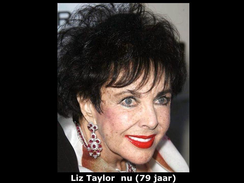 Liz Taylor (1932) actrice vroeger