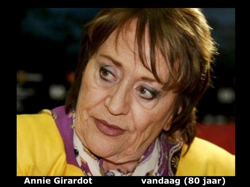 Annie Girardot vandaag (80 jaar)