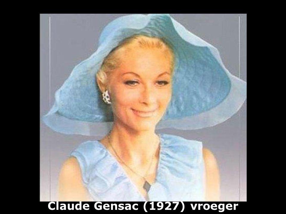 Claude Gensac (1927) vroeger