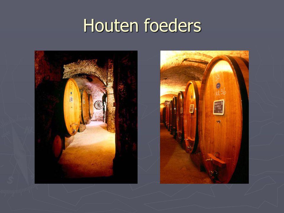 Houten foeders