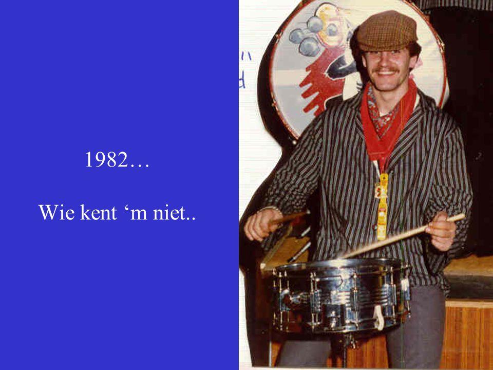 1982… Wie kent 'm niet..