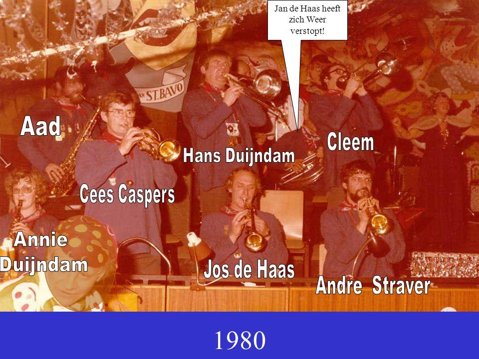1980 Jan de Haas heeft zich Weer verstopt!