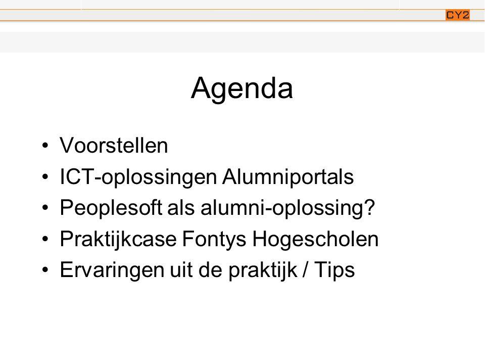Even voorstellen •14 jaar werkzaam in ICT o.a.