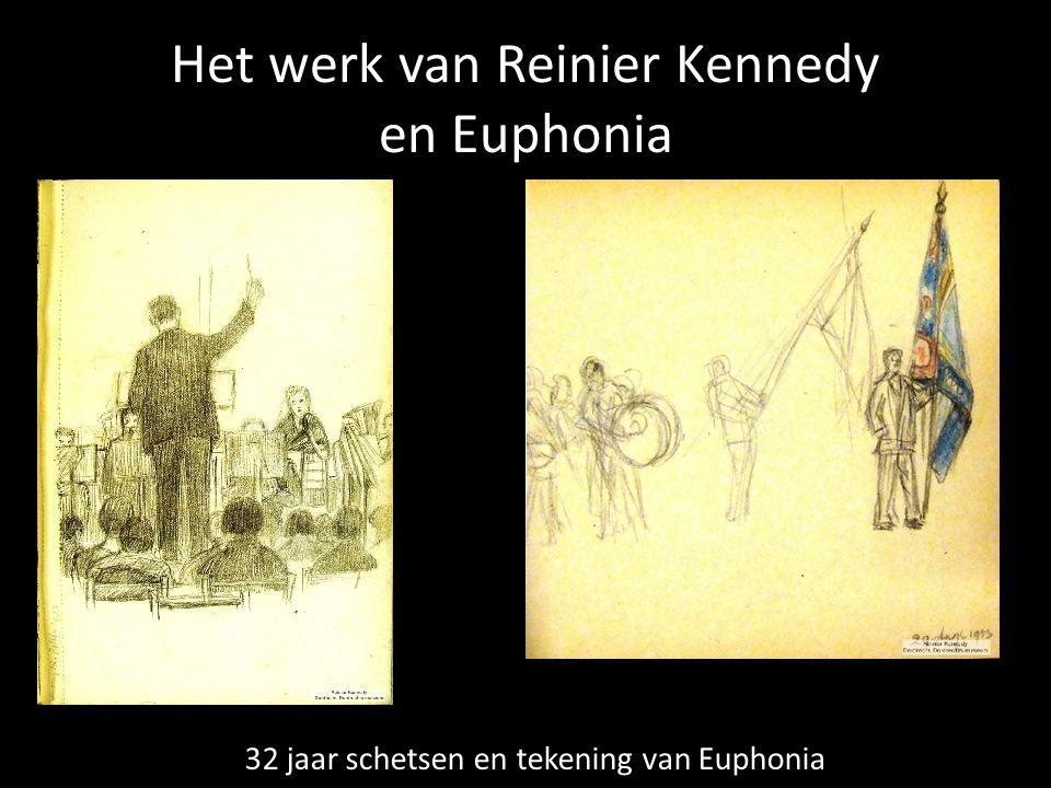 Het werk van Reinier Kennedy en Euphonia 32 jaar schetsen en tekening van Euphonia
