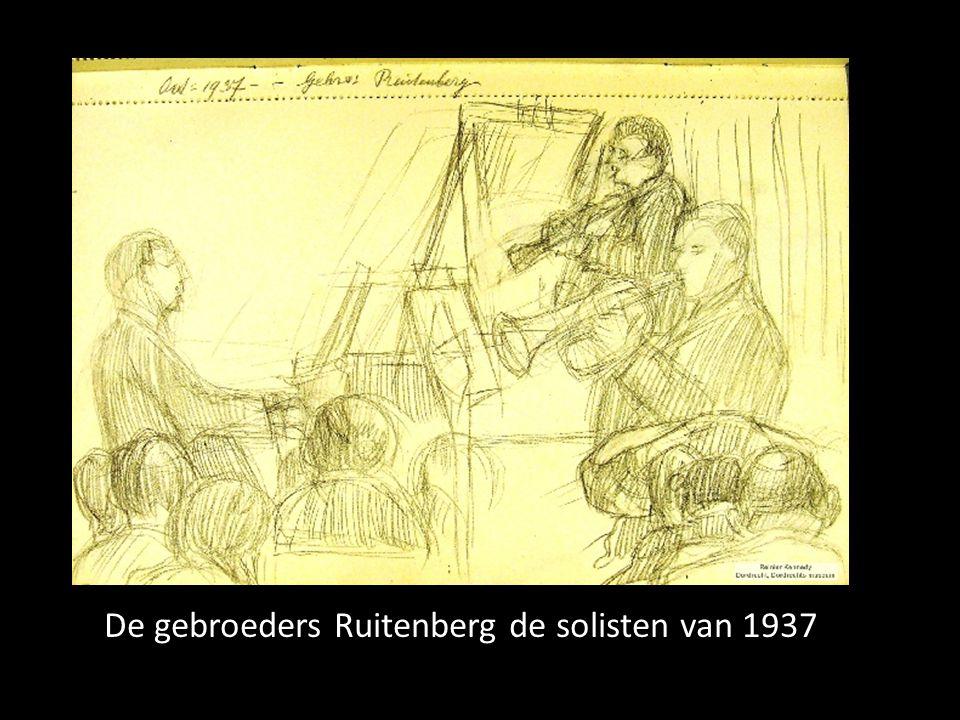 De gebroeders Ruitenberg de solisten van 1937