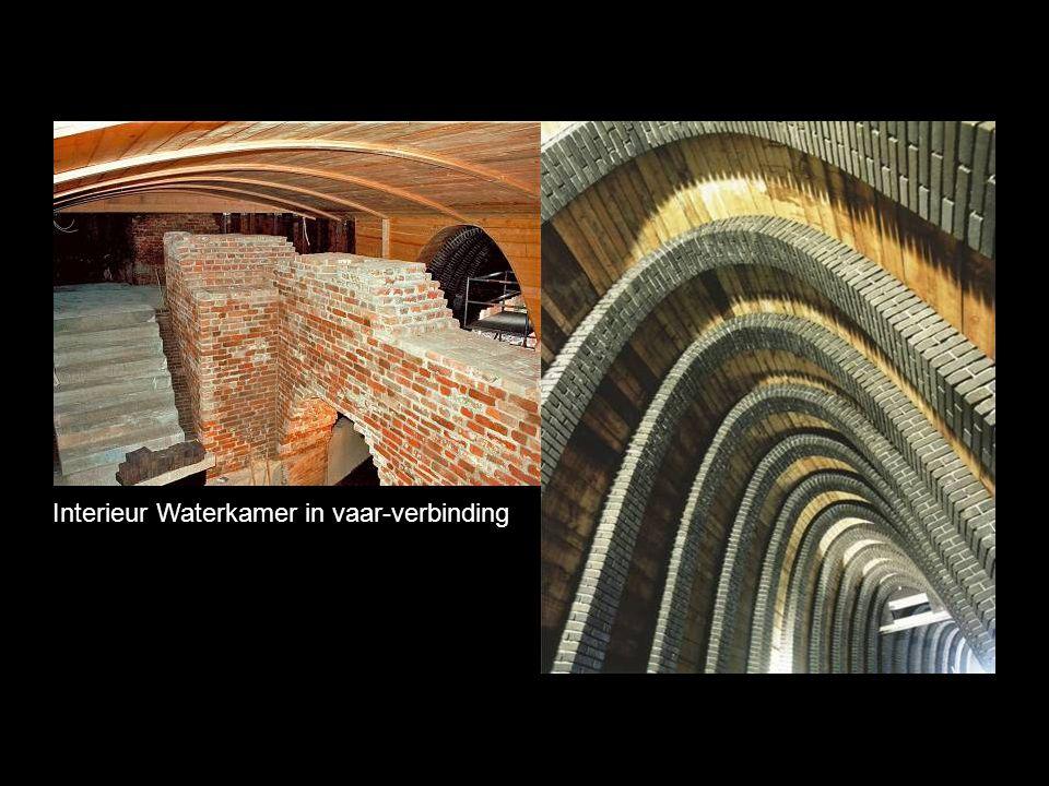 Interieur Waterkamer in vaar-verbinding