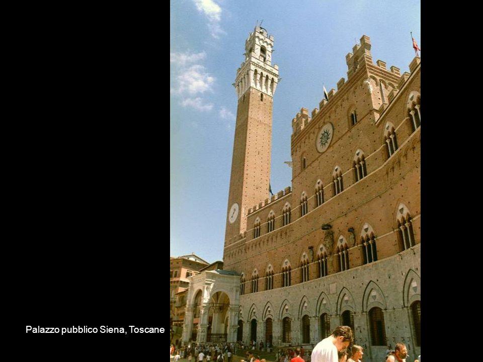 Palazzo pubblico Siena, Toscane