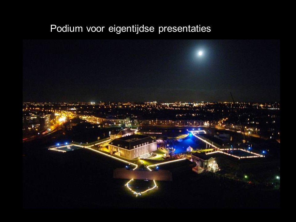Podium voor eigentijdse presentaties
