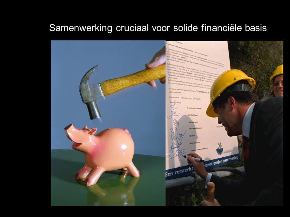 Samenwerking cruciaal voor solide financiële basis