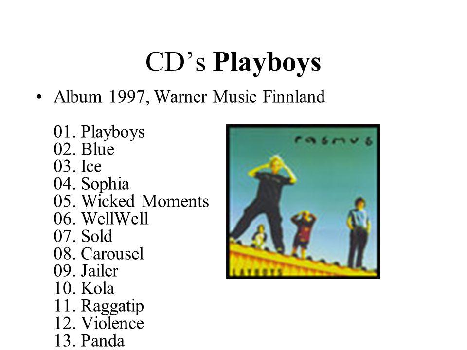 CD's Playboys •Album 1997, Warner Music Finnland 01.