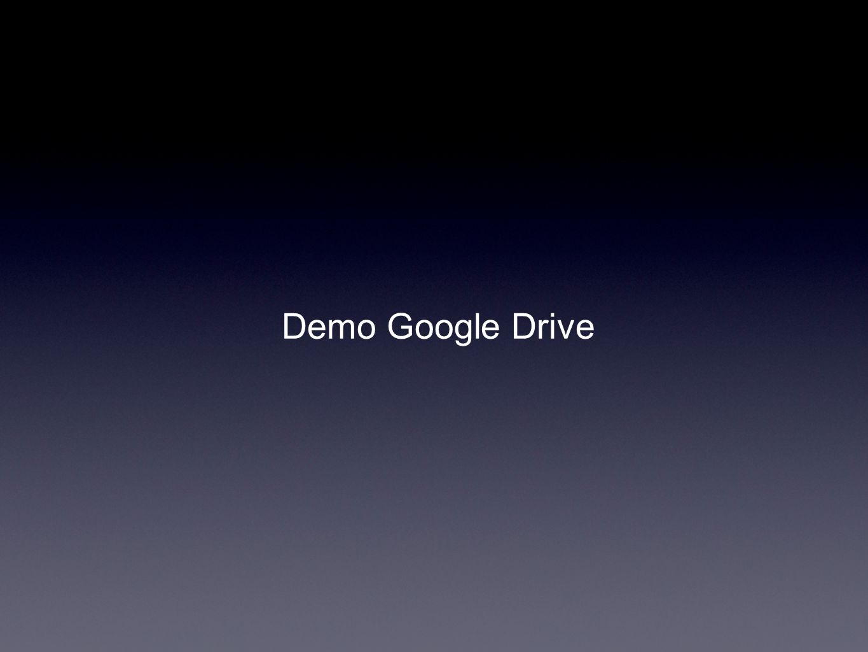 Demo Google Drive