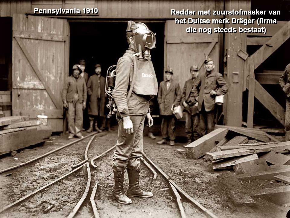 Recuperatie van kolen op een terril