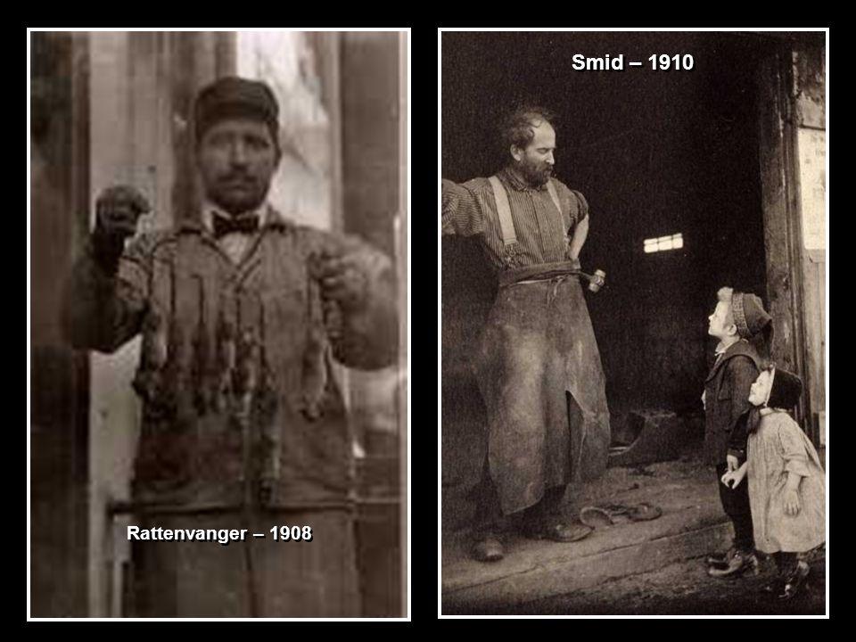 Rattenvanger – 1908 Smid – 1910