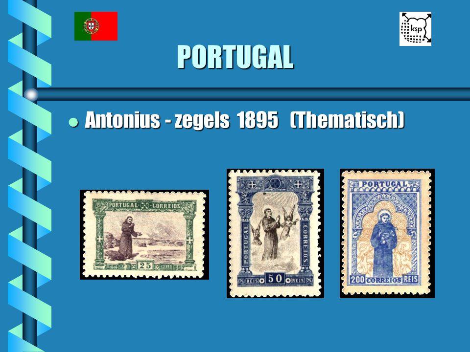 PORTUGAL l Antonius - zegels 1895 (Thematisch)