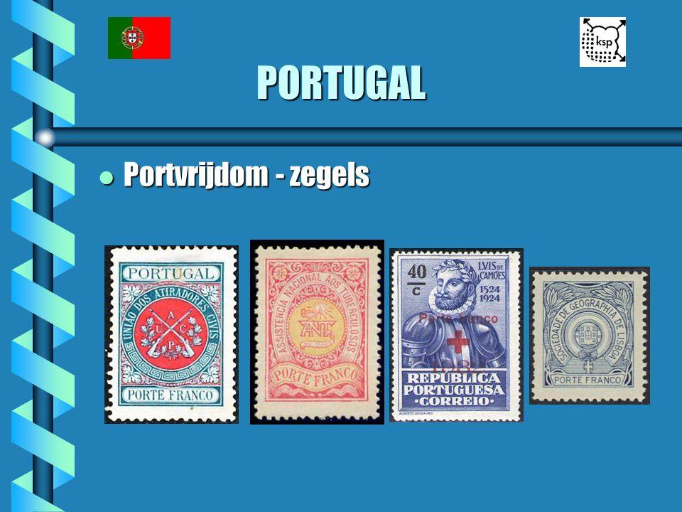 PORTUGAL l Portvrijdom - zegels