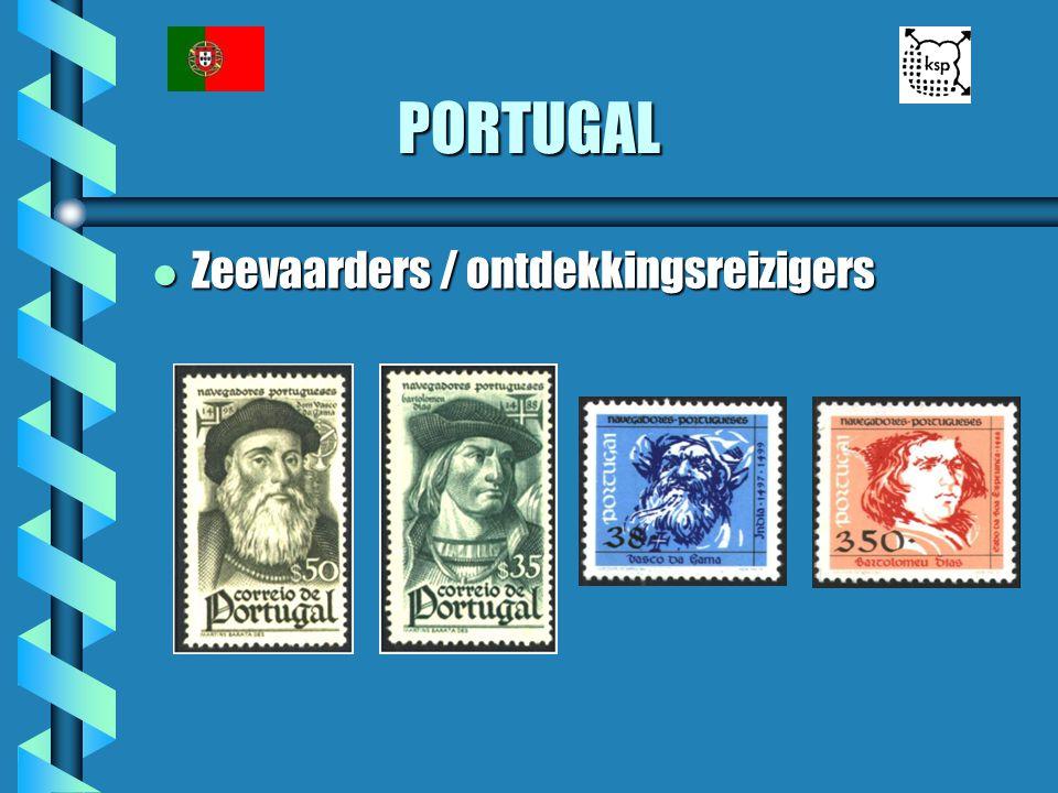 PORTUGAL l Zeevaarders / ontdekkingsreizigers