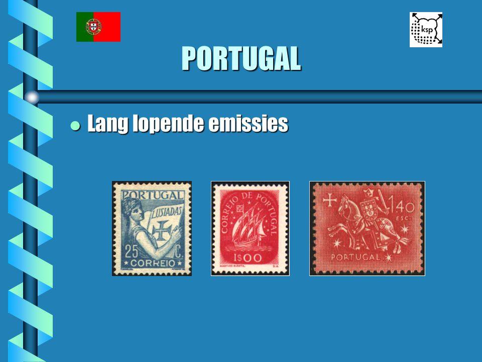 PORTUGAL l Lang lopende emissies