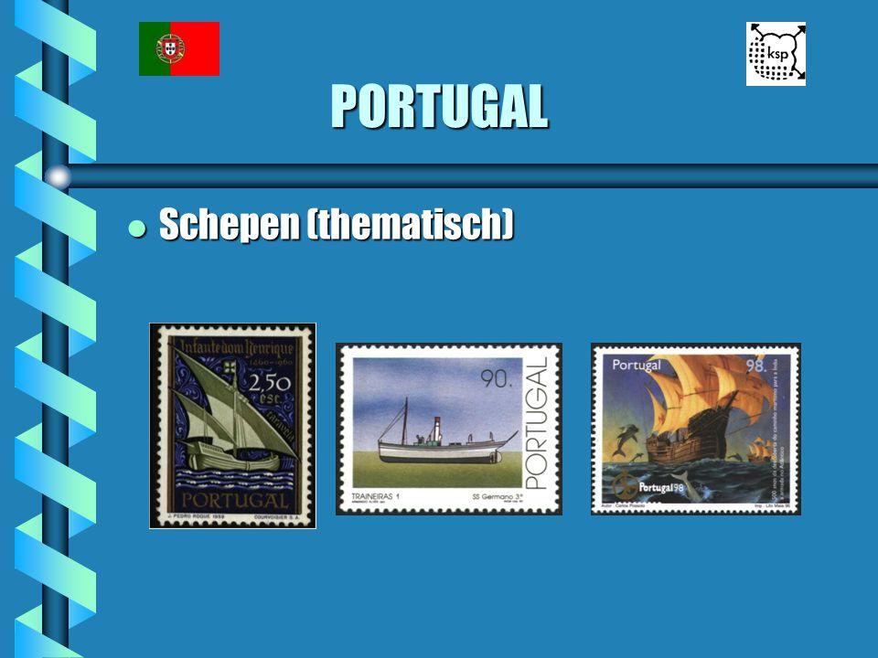 PORTUGAL l Schepen (thematisch)