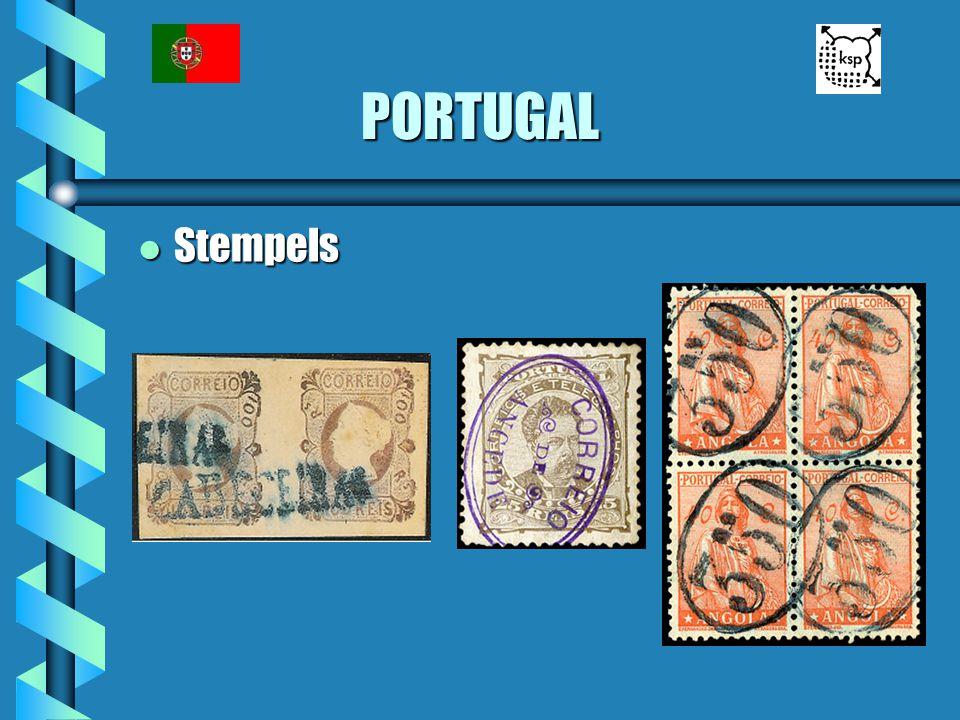PORTUGAL l Stempels