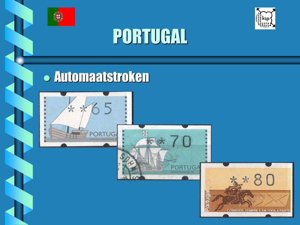 PORTUGAL l Automaatstroken