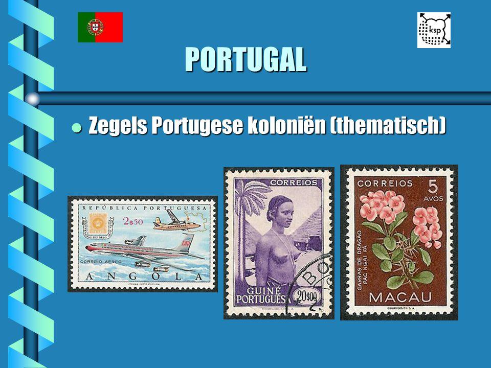 PORTUGAL l Zegels Portugese koloniën (thematisch)