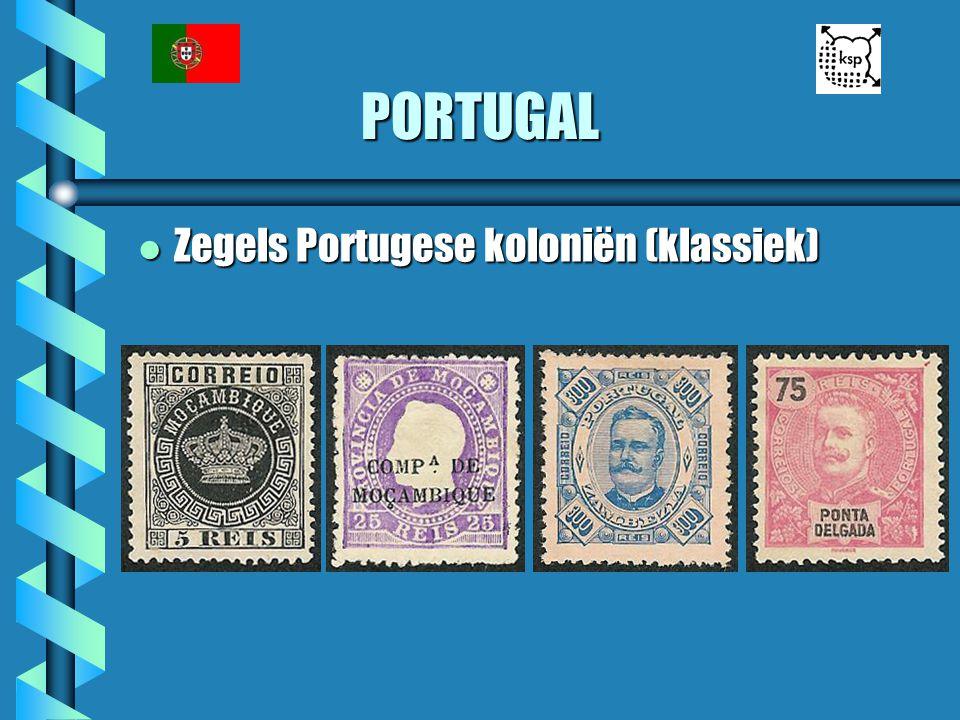 PORTUGAL l Zegels Portugese koloniën (klassiek)