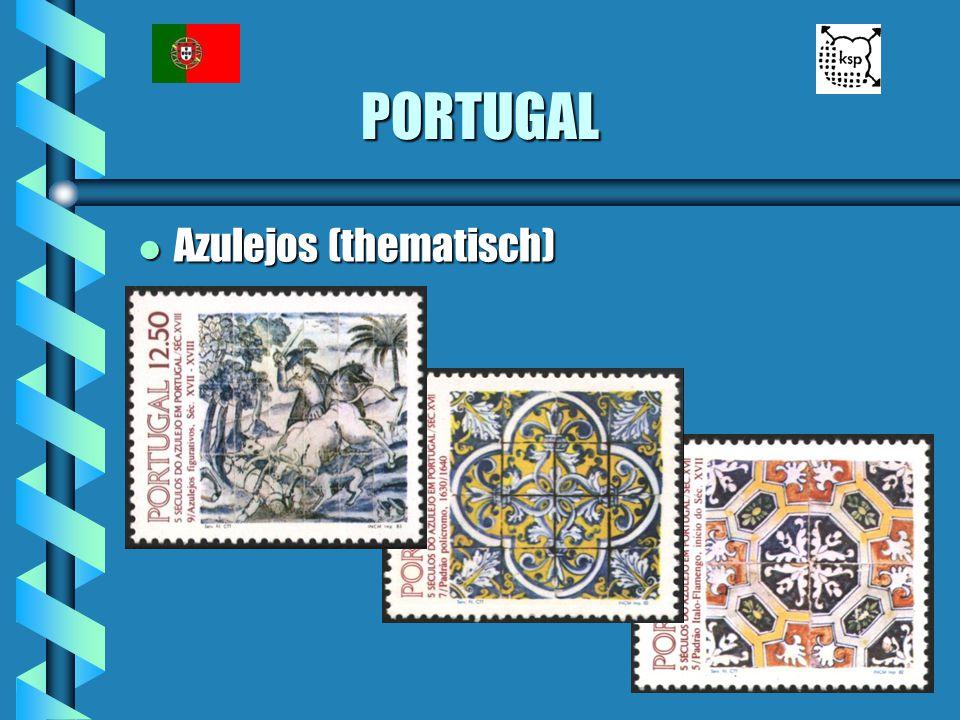 PORTUGAL l Azulejos (thematisch)