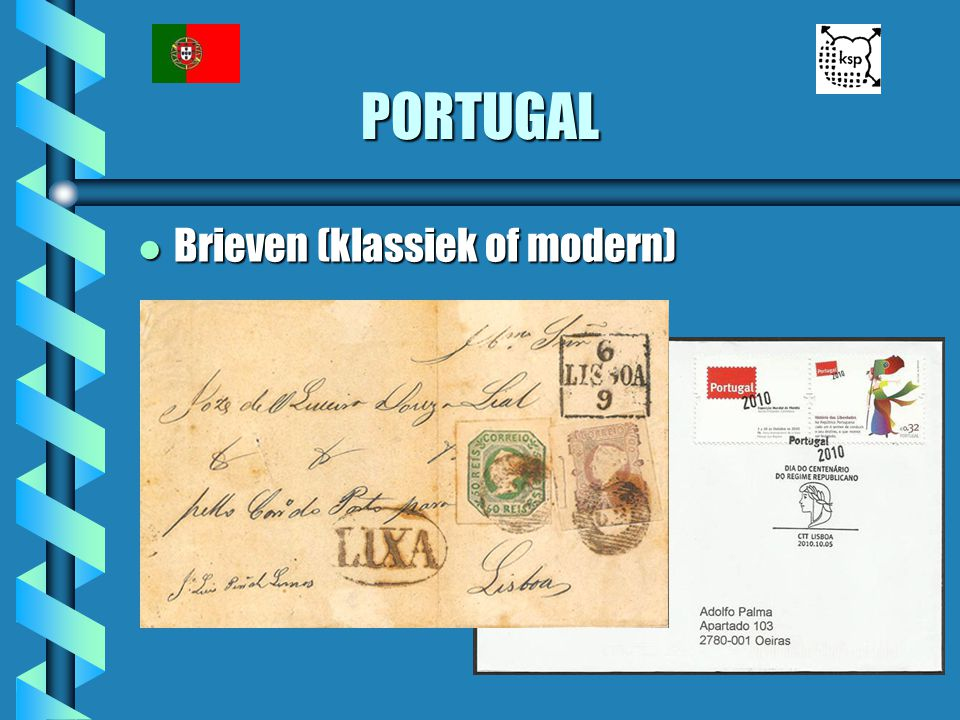 PORTUGAL l Brieven (klassiek of modern)