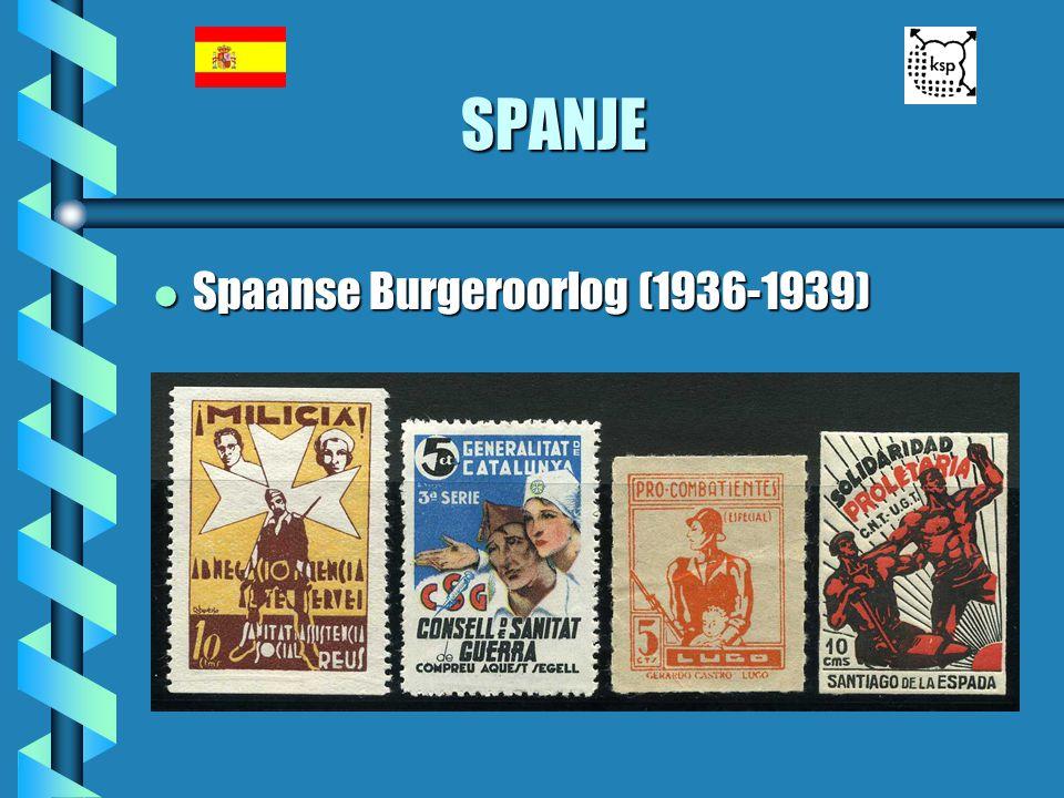 SPANJE l Spaanse Burgeroorlog (1936-1939)