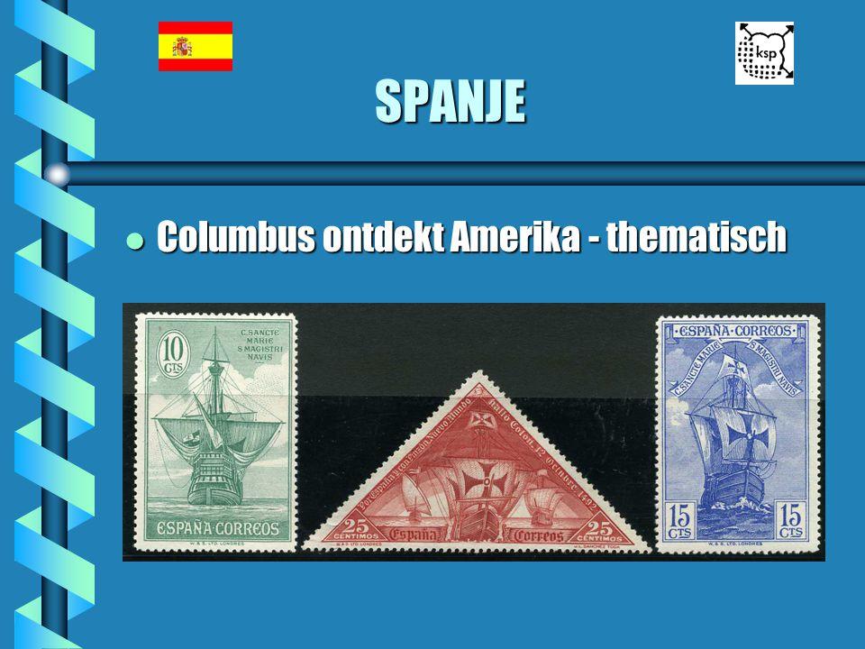 SPANJE l Columbus ontdekt Amerika - thematisch
