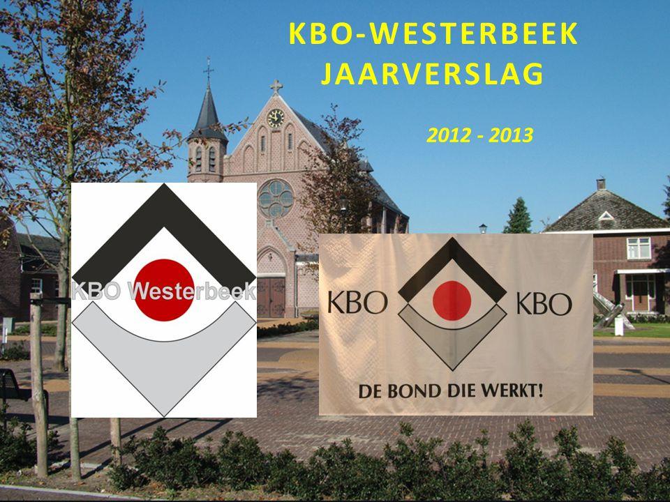KBO-WESTERBEEK JAARVERSLAG 2012 - 2013