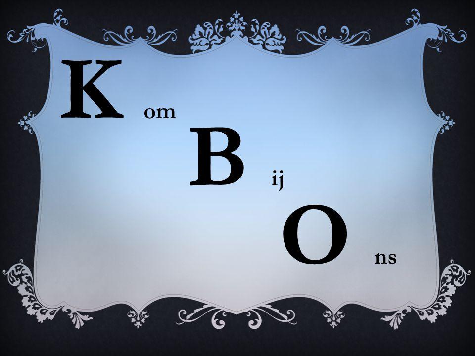 K om B ij O ns
