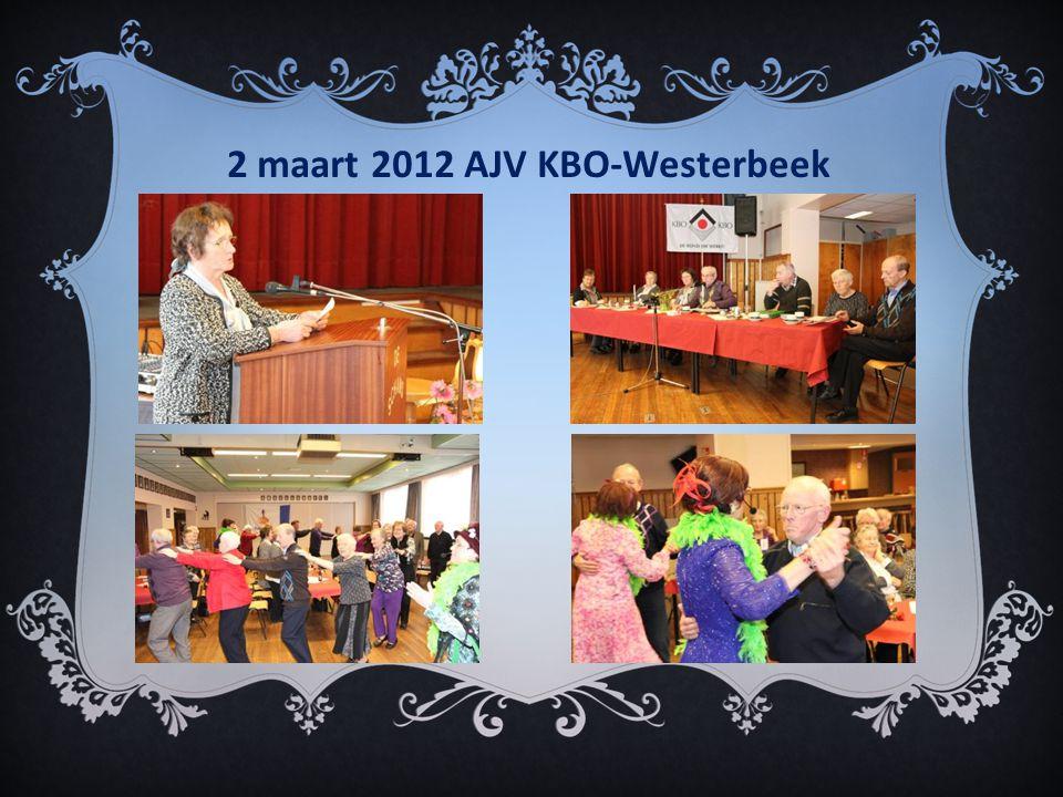 2 maart 2012 AJV KBO-Westerbeek