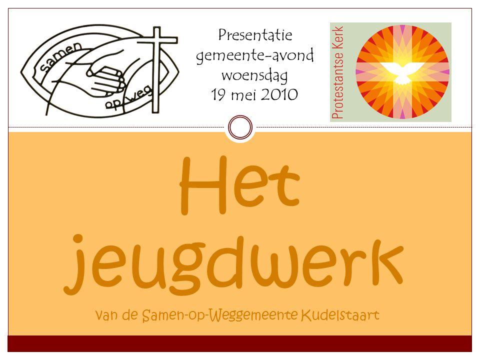 Het jeugdwerk van de Samen-op-Weggemeente Kudelstaart Presentatie gemeente-avond woensdag 19 mei 2010