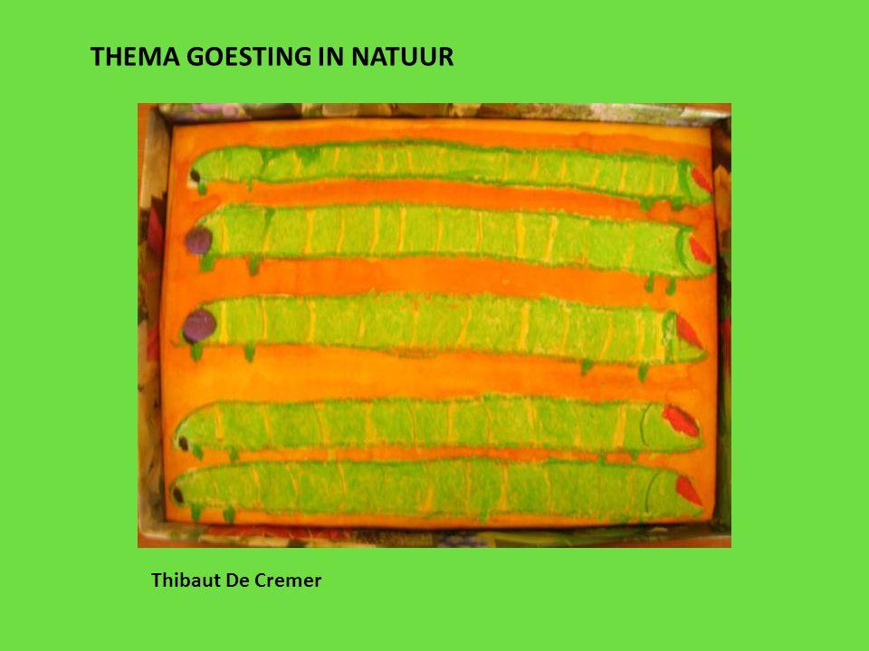 THEMA GOESTING IN NATUUR Thibaut De Cremer