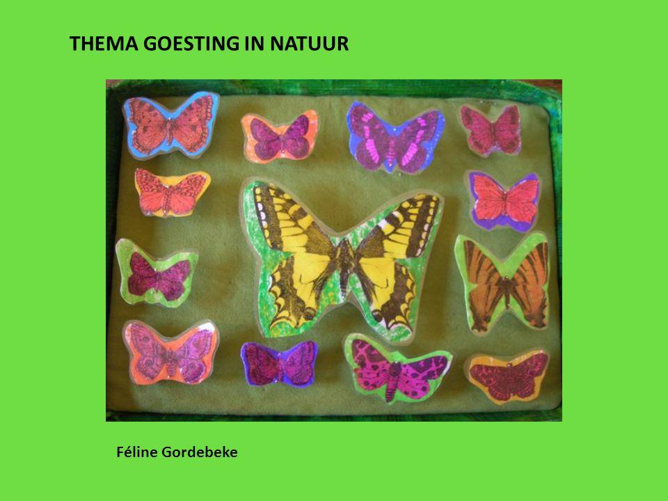 THEMA GOESTING IN NATUUR Féline Gordebeke